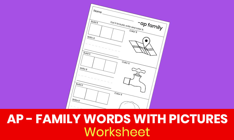 AP family words with pictures