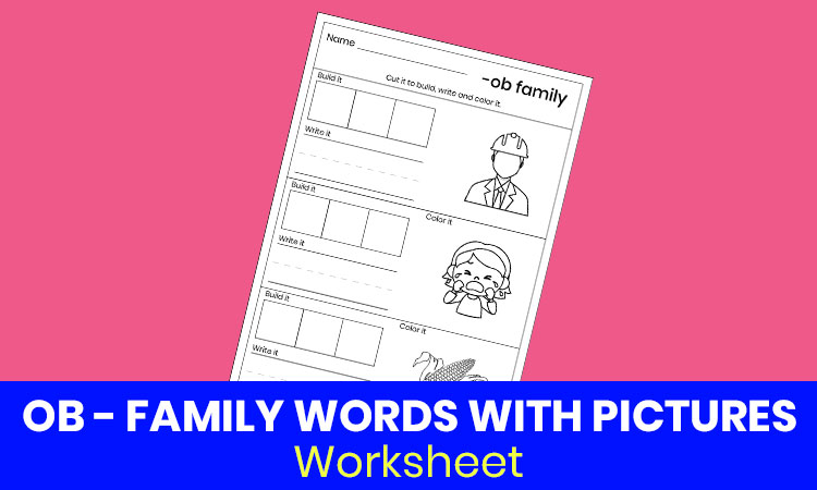 OB family words with pictures