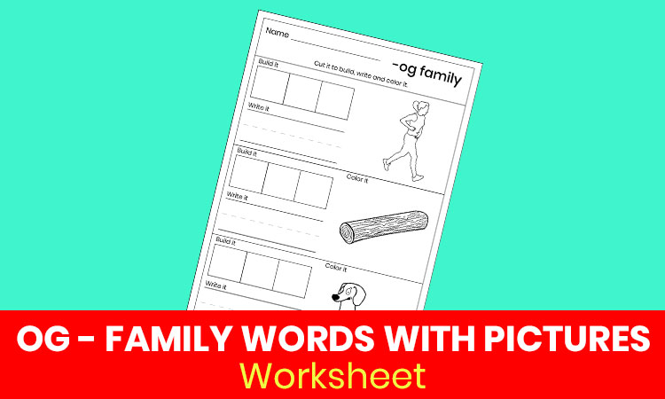 OG family words with pictures